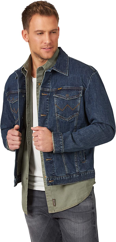 Wrangler Men's Retro Unlined Stretch Denim Jacket
