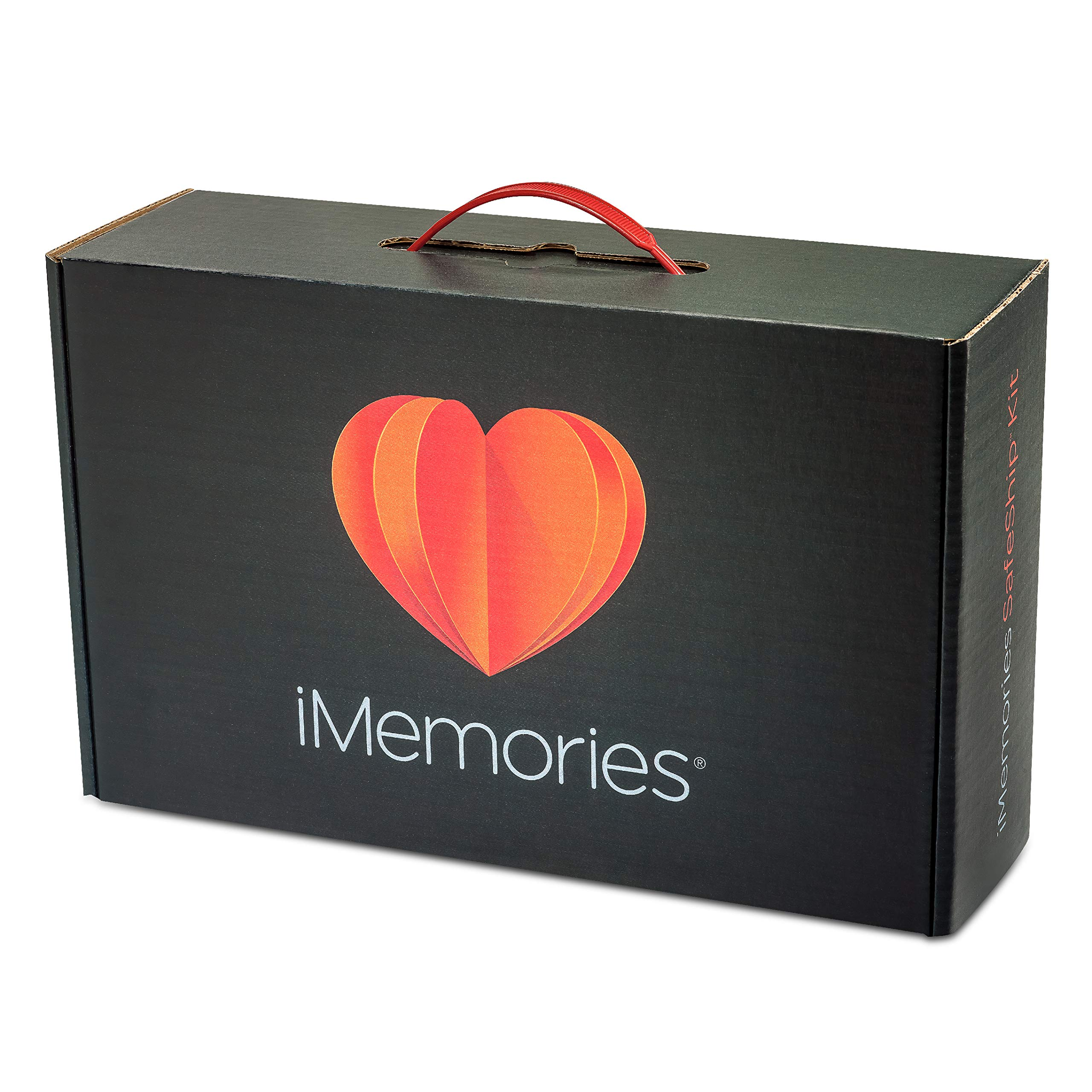 iMemories SafeShip Kit with $120 Conversion Reimbursement, Digitally Convert Your Family's Home Movies and Photos