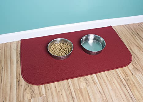 Ritz Accent Kitchen Rug with Latex Backing, 20-Inch by 36-Inch, Red
