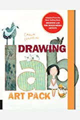 Drawing Lab Art Pack: A Fun, Creative Exercise Book & Sketchpad - Adapted from the best-selling book Drawing Lab for Mixed-Media Artists Hardcover