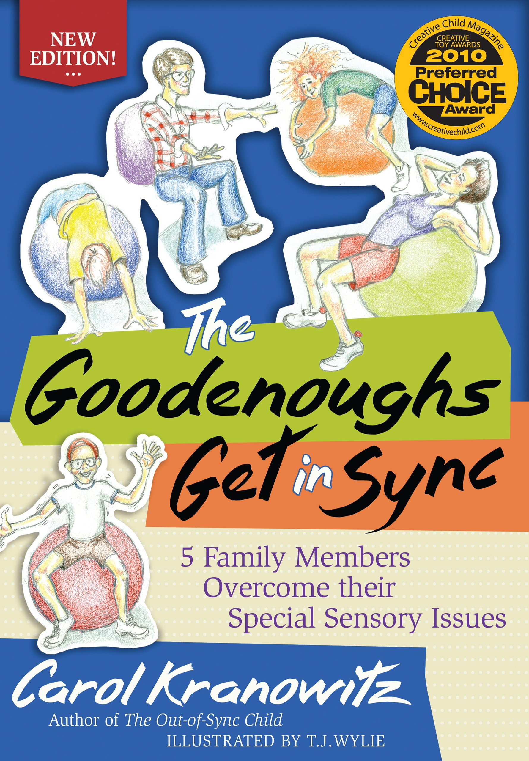 The Goodenoughs Get in Sync: 5 Family Members Overcome their Special Sensory Issues PDF