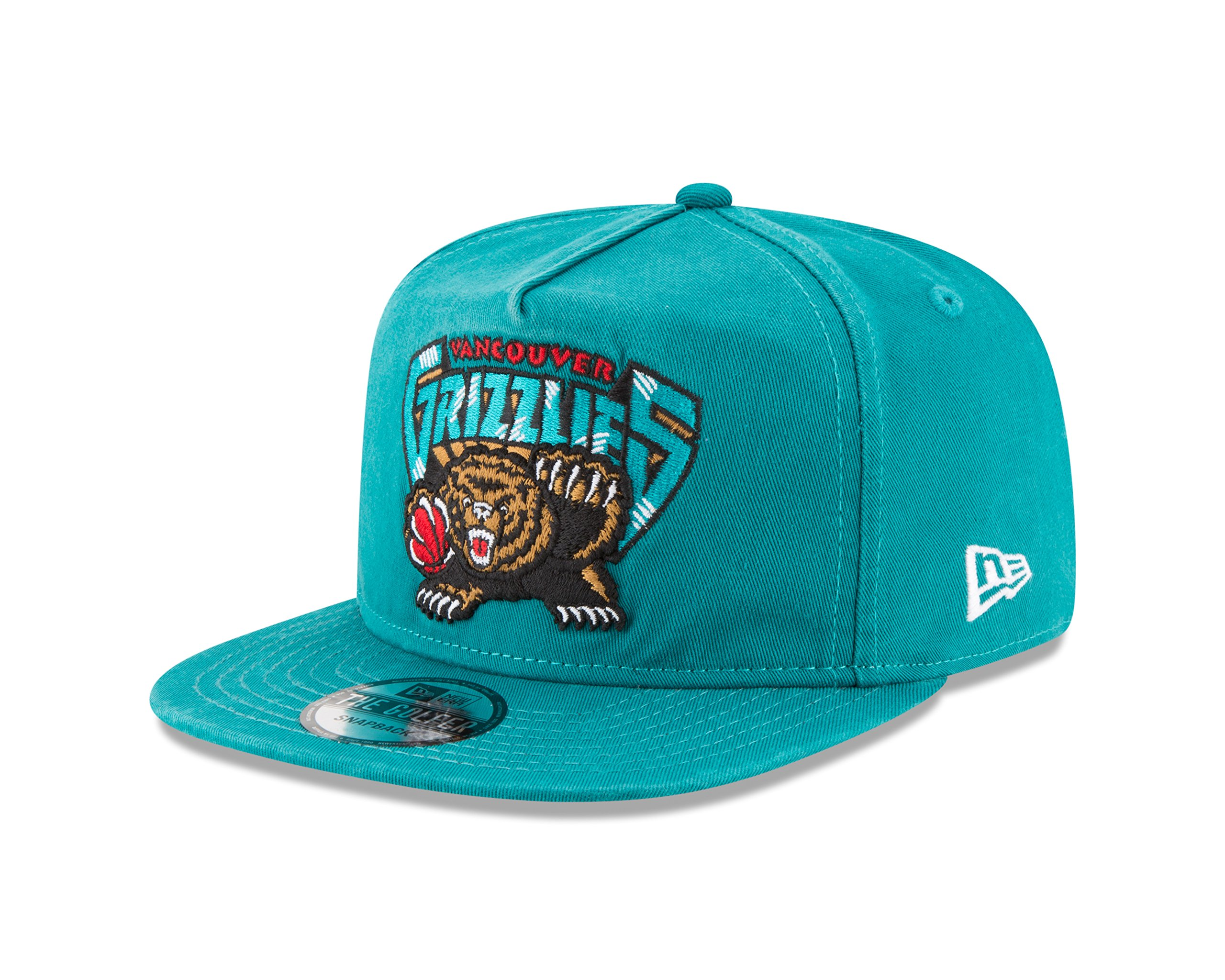 NBA VANCOUVER GRIZZLIES Hardwood By New Era A-Frame Snapback Cap ...