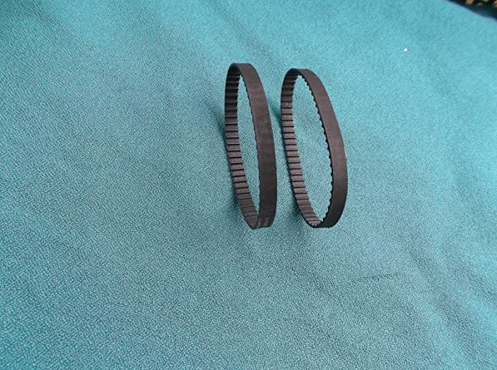 2 NEW DRIVE BELTS REPLACES SEARS CRAFTSMAN HOME SHARPENER 319.190710