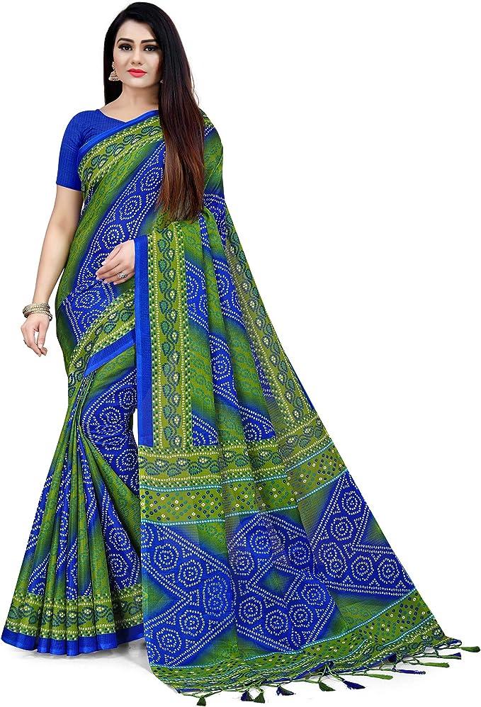 Sari Kota Cotton Doriya Saree Wedding Designer Traditional Indian Partywear Sari