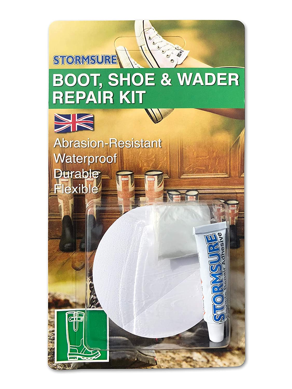 2 x STORMSURE Boot Shoe Wader Wellington Trainer Repair Adhesive Glue Kit RKBOOT