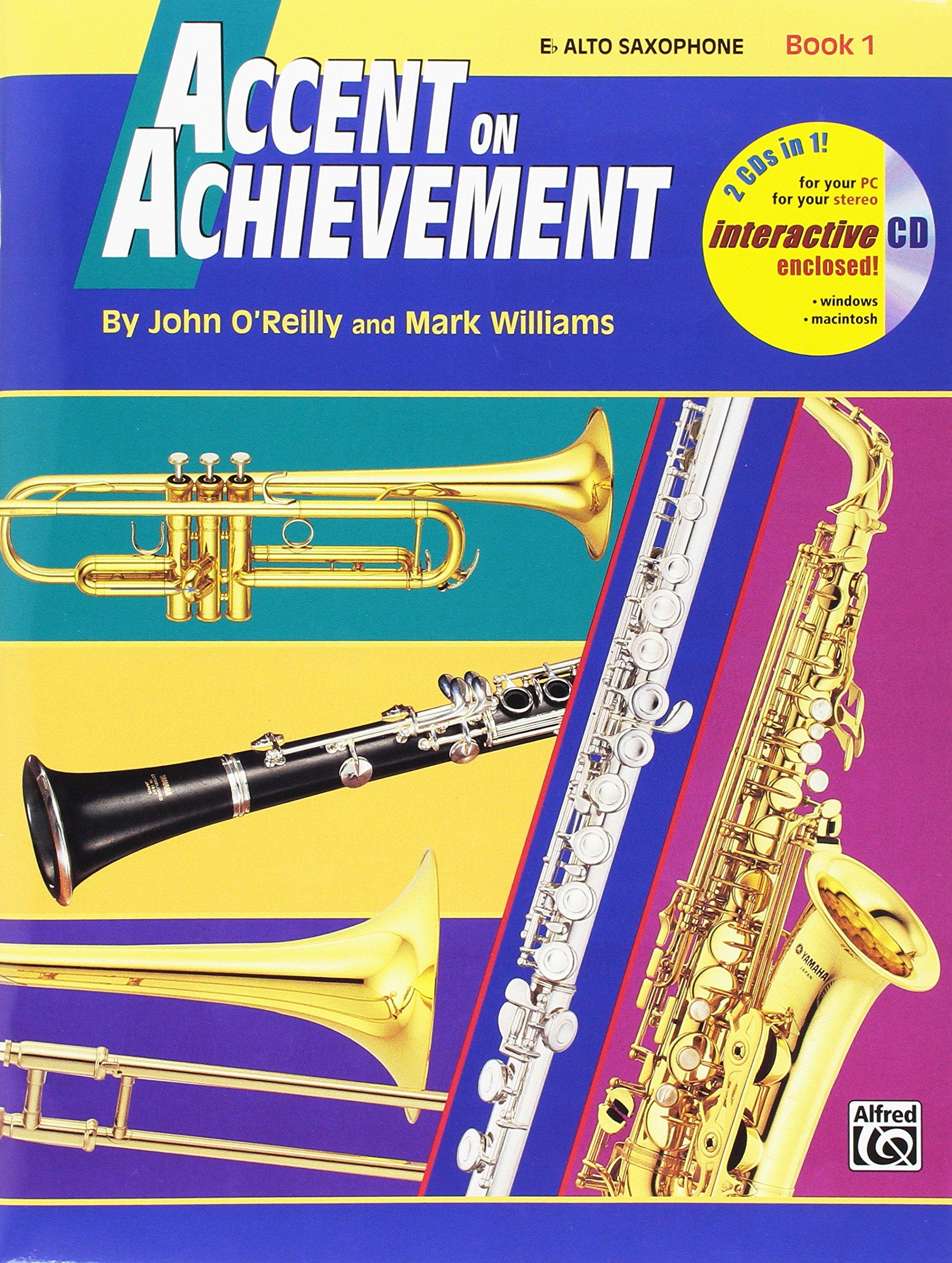 Accent Achievement Book Alto Saxophone product image