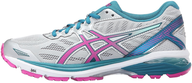 ASICS Women's Gt-1000 5 Running Shoe B017USPBF8 5 B(M) US|Glacier Gray/Pink Glow/Ocean Depth