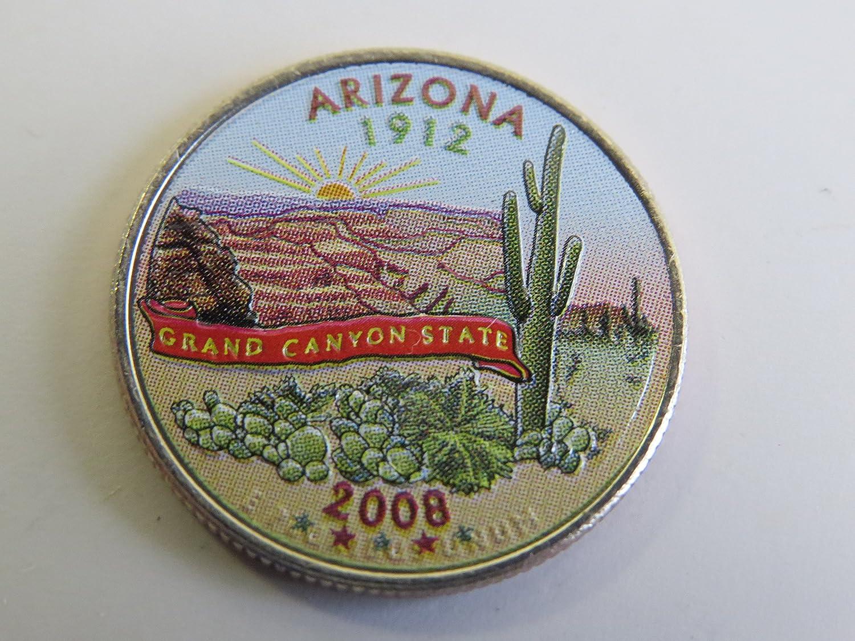 AZ Uncirculated 2008 D MINT Arizona State Quarter Shipping Discount!