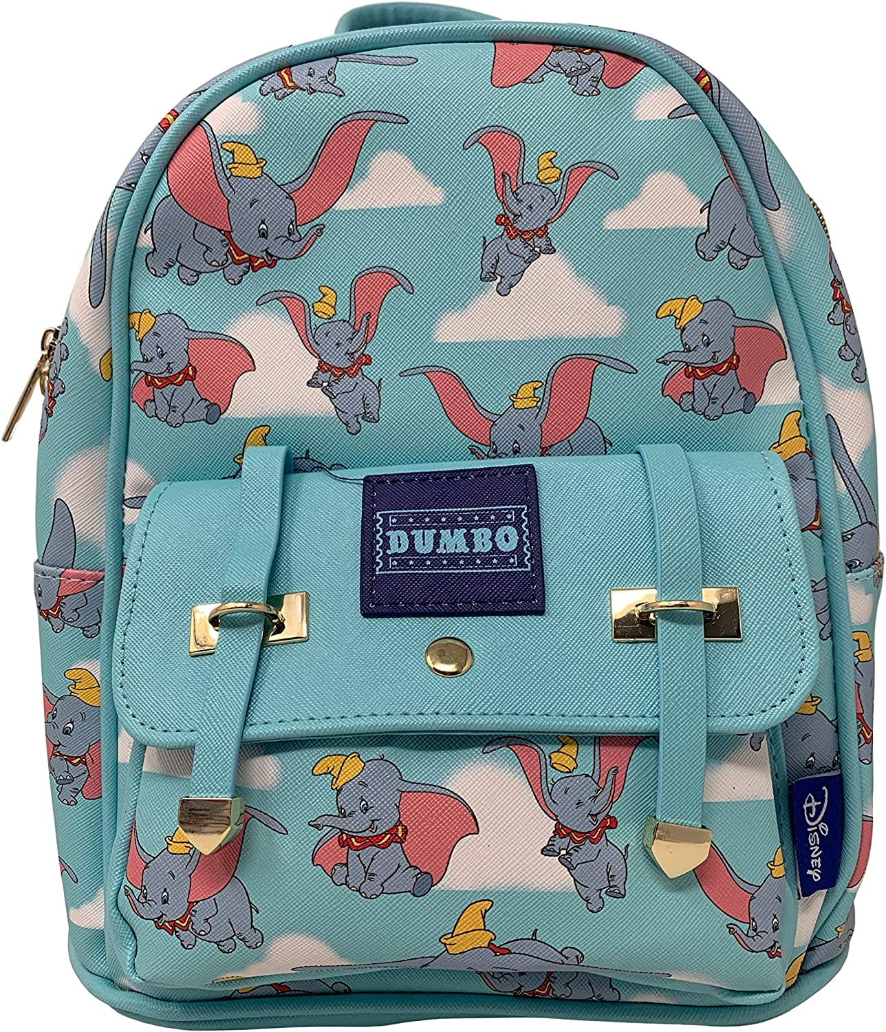 Deluxe Disney s Dumbo 11 Faux Leather Mini Backpack