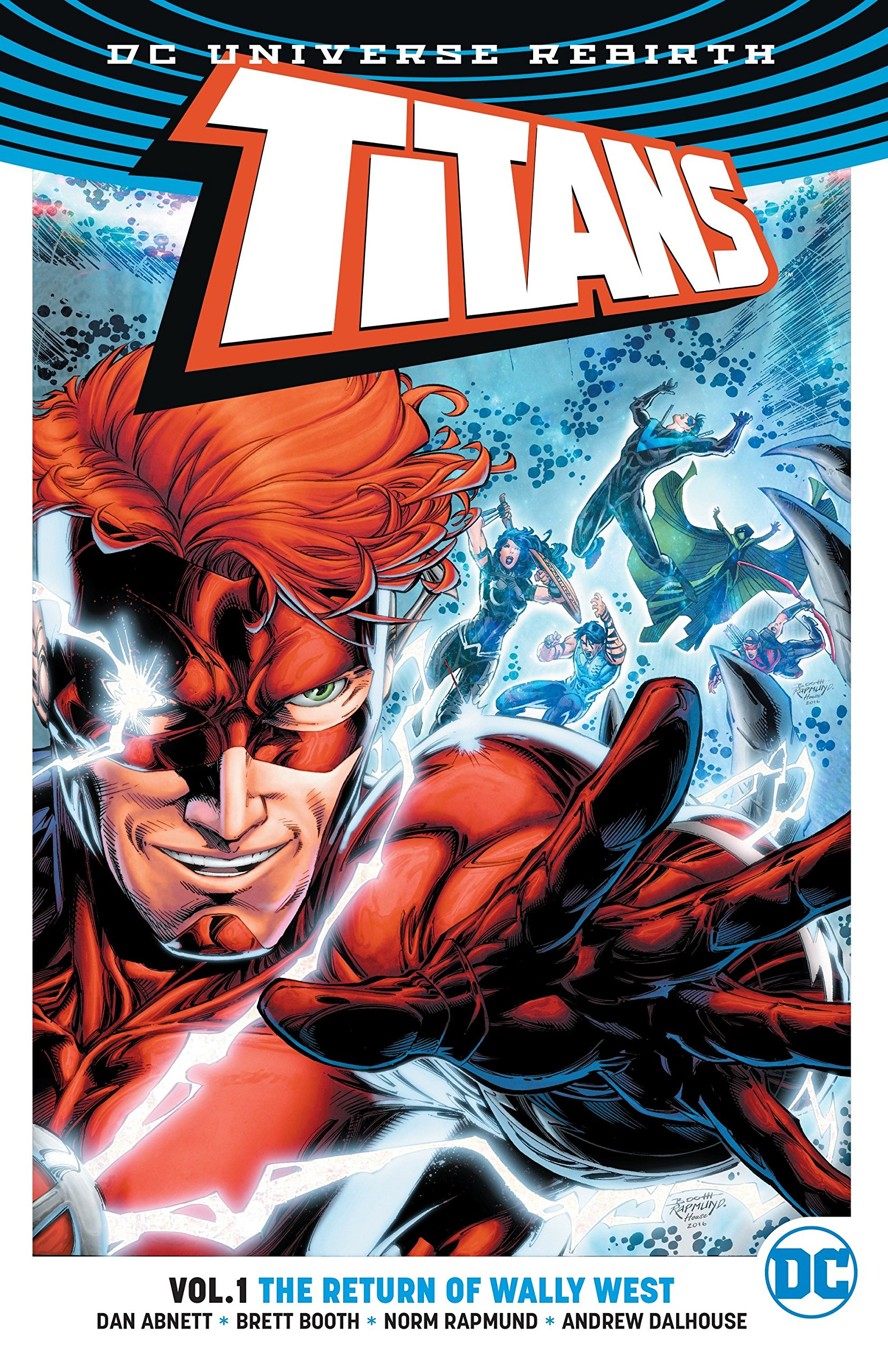 amazon com titans vol 1 the return of wally west rebirth