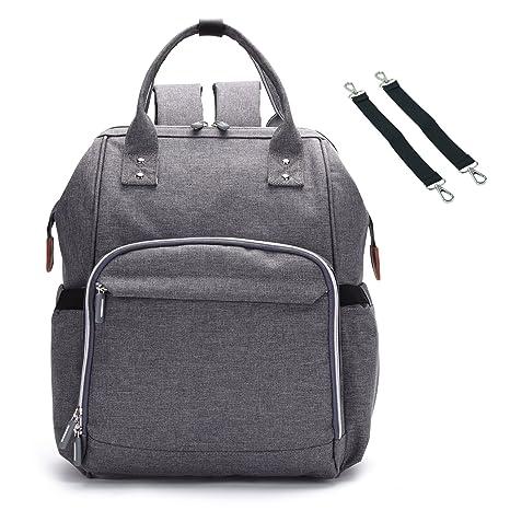 9addb579e6a5b Bison Denim Wickeltasche Große Fähigkeit Wasserdicht Wickeltaschen Diaper  Bag Mode Rucksäcke Baby Backpack