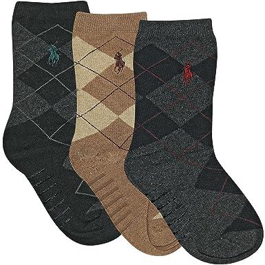 Polo Ralph Lauren - Calcetines de deporte - para niño Multicolor ...