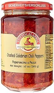 Crushed Calabrian Chili Pepper Paste / Spread (1 jar x 10 OZ)