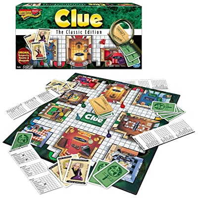 Winning Moves Games Clue The Classic Edition: Game: Toys & Games