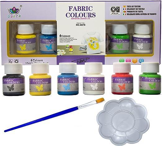 Pack Pintura para Tela y Ropa Permanente y Resistente al Agua más ...