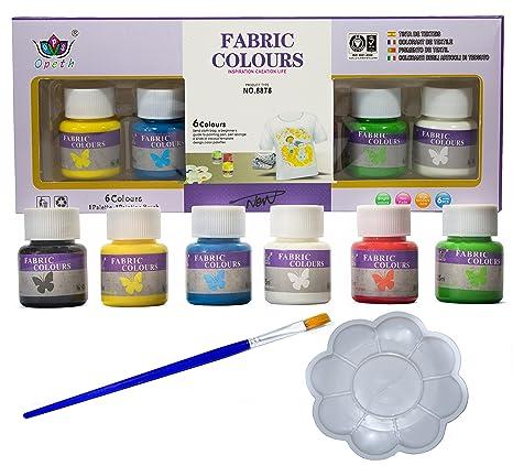 Pack Pintura para Tela y Ropa Permanente y Resistente al ...