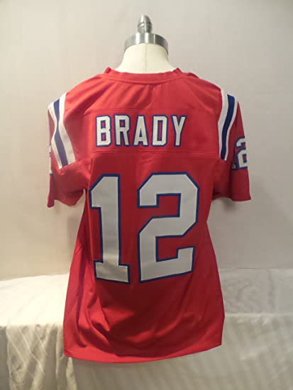496b335096e Image Unavailable. Image not available for. Color  Tom Brady Red Jersey ...