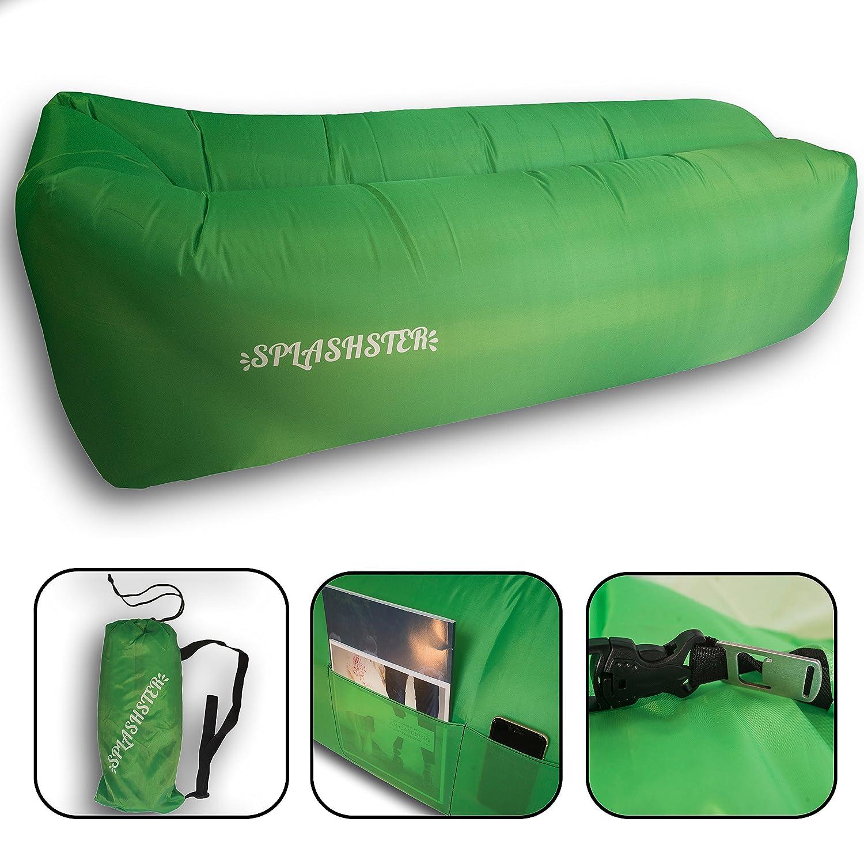 hinchable impermeable sofá con bolsa de transporte ...