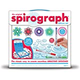 Kahootz Spirograph Deluxe Set-, Other, Multicoloured