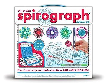 Amazon Kahootz Spirograph Deluxe Design Set Toys Games