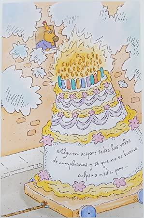 Feliz Cumpleanos Happy Birthday In Spanish Greeting Card Funny