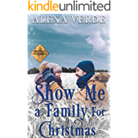 Show Me a Family for Christmas : Small-Town Single-Father Cowboy Romance (Cowboy Crossing Romances Book 6) (English…