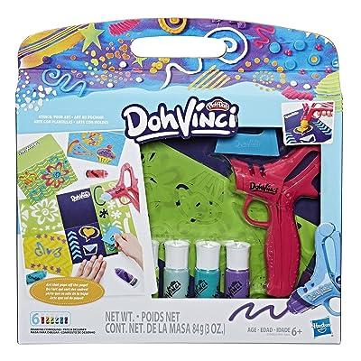 Play-Doh Dohvinci Stencil Your Art Stenciling Kit Brand - Art Supplies Kids & Tweens: Toys & Games