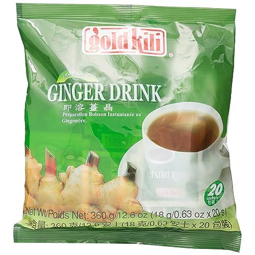 Gold Kili Instant Honey Ginger Drink 360g (20 Sachets)