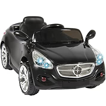 best choice products kids 12v electric power ride on car with radio mp3 black