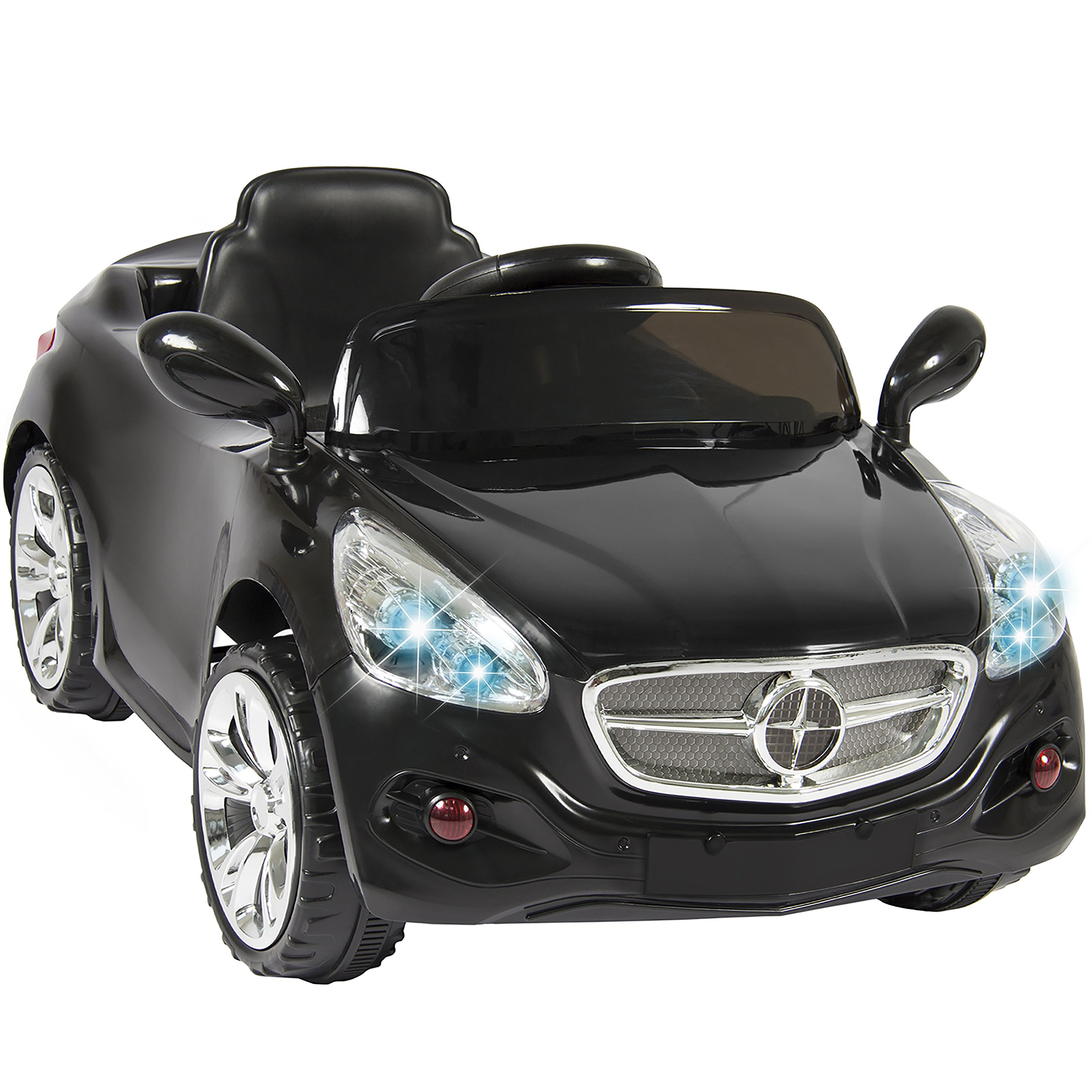 Best Choice Products Kids 12V Electric Power Ride On Car with Radio & MP3, Black by Best Choice Products