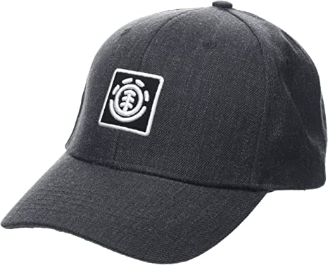 Element Treelogo Cap Caps, Hombre, Charcoal Heathe, One Size ...