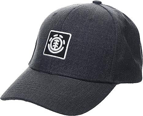 Element Treelogo Cap Caps, Hombre, Charcoal Heathe, One Size ...
