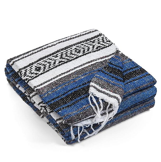 Amazon.com: Topaz Hill - Manta mexicana hecha a mano - Manta ...