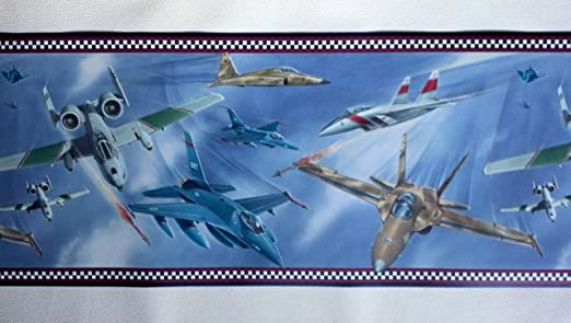 Military Jets Wallpaper Border Air Force By Rolling