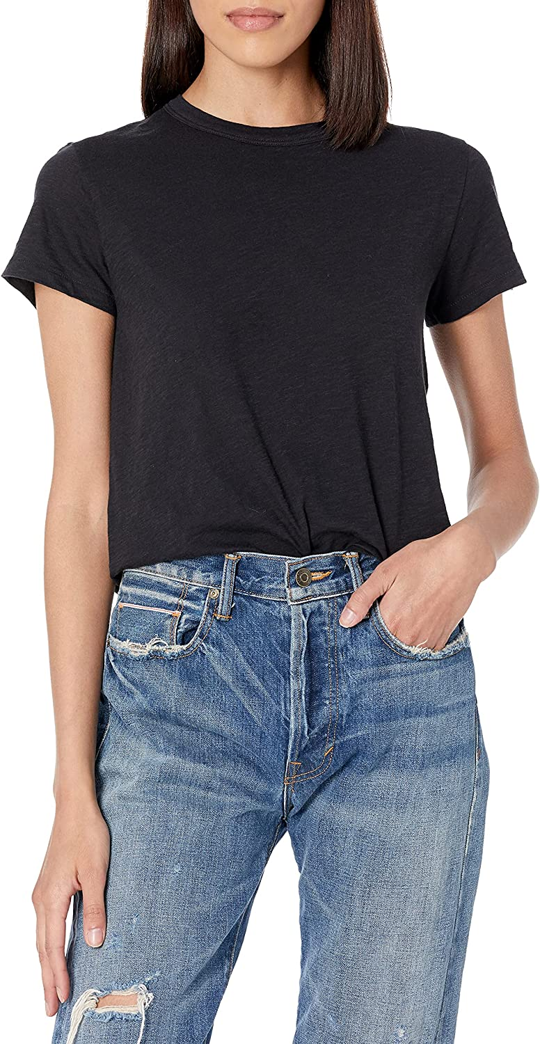 Vince Women's Short Sleeve Austin Mall Tee Relaxed Limited price