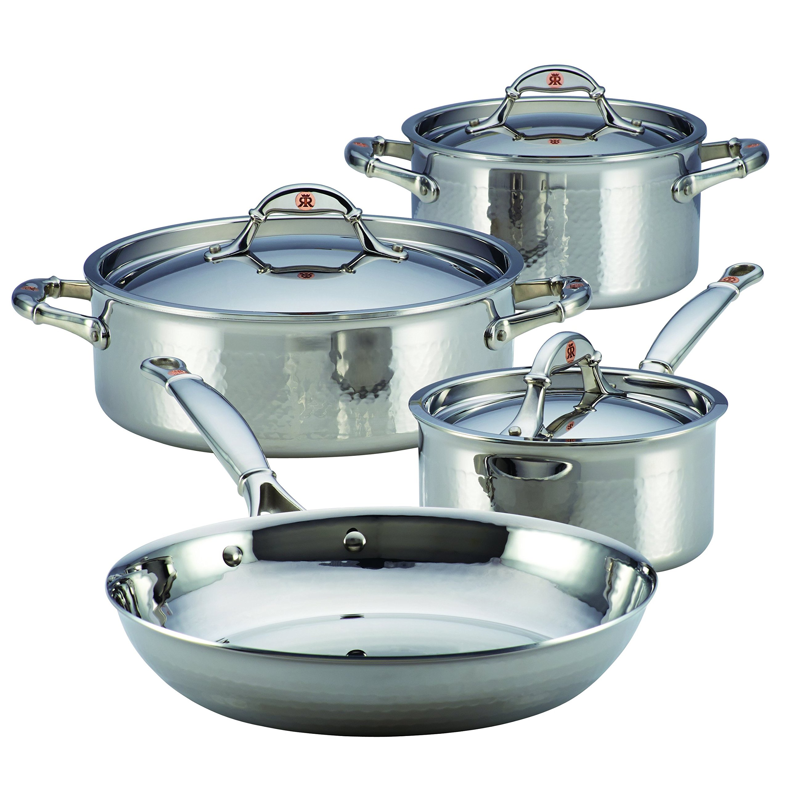 Ruffoni Symphonia Prima 7-Piece Cookware Set, Stainless Steel
