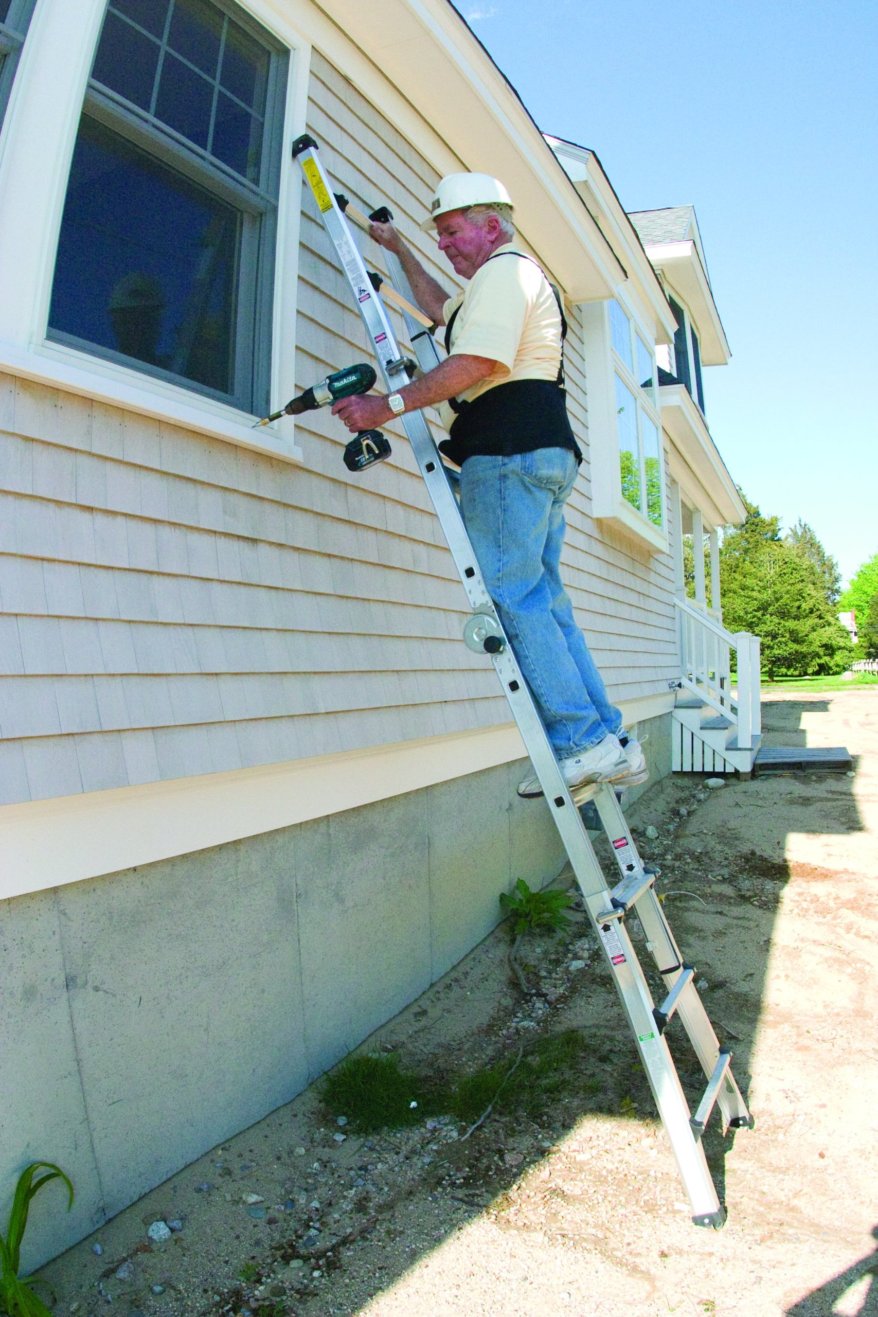Vulcan Ladder USA 3600735401986540 Stepladder Multi-Task Alu 17Ft 17' MT by Vulcan Ladder USA (Image #4)