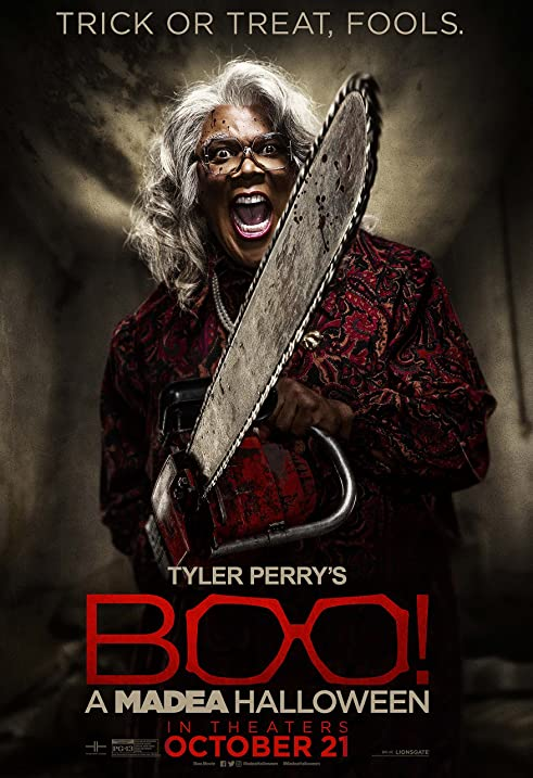 Amazon.com: Tyler Perry's Boo 2! A Madea Halloween Movie Poster ...