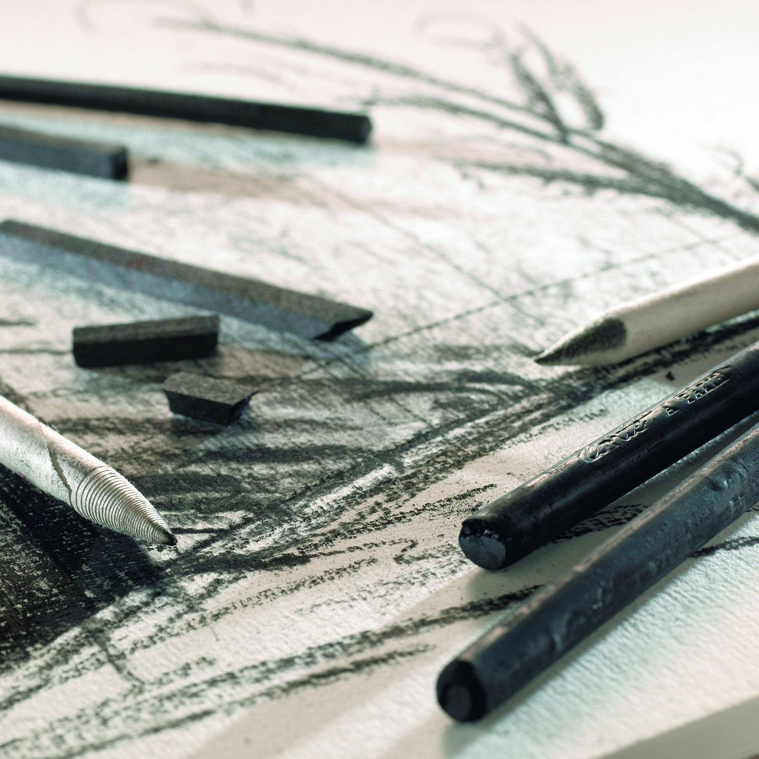 Conté à Paris 12 Count 2B Sketching Crayons Set, Black by Cont Ë Paris (Image #2)