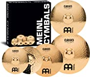 Meinl Cymbals CC-141620+18 Classics Custom Set: 14-Inch  Hi Hat, 16-Inch  Crash, 20-Inch  Ride, FREE 18-Inch  Crash