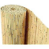 bambus-discount.com Schilfrohrmatte Premium, 100 x 600cm Sichtschutzmatte