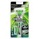 Gillette Mach3 Sensitive Rasierer Für Männer (mit 2 Klingen)