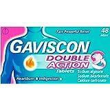 Gaviscon Double Action Mint Chewable Tablets 48pk