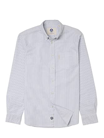 Homme North 100 Peter Oxford Chemise Traditionnel Sails Fit aCCxq4
