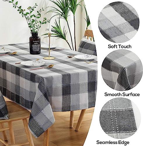 AmHoo Gingham Checkered Tablecloth Lattice Table Cloth Rectangle Table Cover