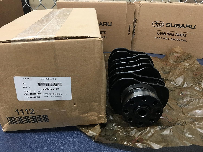 2009-2018 Subaru WRX STi Nitride Treated Hardened Crankshaft EJ257 2.5L 12200AA430 OEM GENUINE