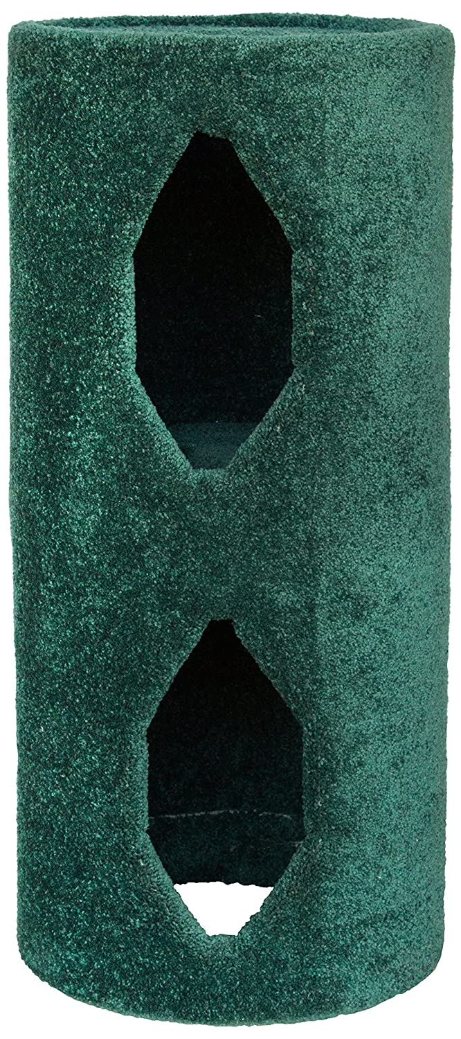 Green Molly and Friends Two-Story Carpeted Condo with Two Platforms, Green