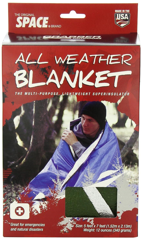 Grabber All Weather Blanket 5 Feet X 7 Feet Box 8313AWBGR