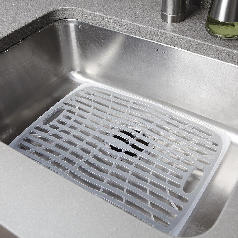 oxo good grips sink mat large dish racks kitchen