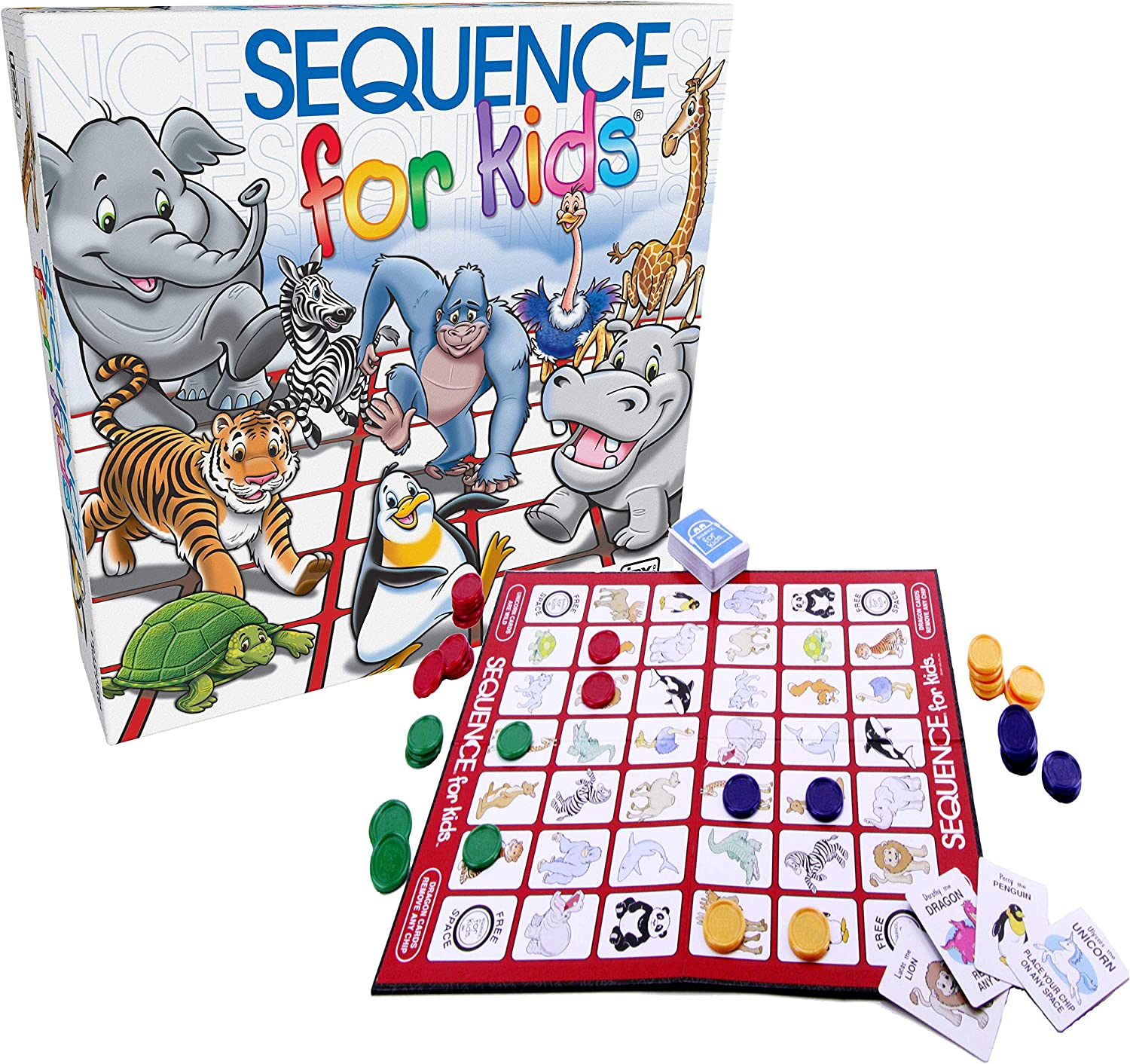 SEQUENCE FOR KIDS GAME: Amazon.es: Juguetes y juegos